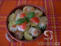 Recept na lehké jídlo vhodné pro vegetariány.