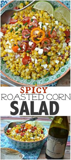 Spicy Roasted Corn S