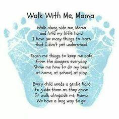 Footprint Poem