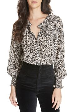 Brand: Rebecca Taylor Style: Tops Gender: Women's Made In: China Wash: Dry Clean Only Material: Silk Blusas Animal Print, Animal Print Blouse, Animal Prints, Only Clothing, Dressy Pants, Animal Print Fashion, Printed Blouse, Printed Silk, Rebecca Taylor