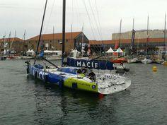 Macif au havre ! by @Macif60 #TJV13 #macif60 #IMOCA | www.scanvoile.com