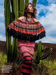 #CristaCober by #JRDuran for #VogueBrazil August 2014