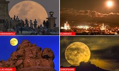 Sydney Opera House to London Eye: Stunning images of the supermoon