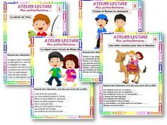 ATELIERS LECTURE : Début d'année CE1 - En cours d'année CP • ReCreatisse French Classroom, Classroom Language, Teaching French, Reading Activities, Learn To Read, Student Learning, Special Education, Elementary Schools, Cycle 2