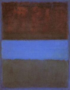 rust-blue-rothko, 1953