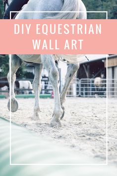 Do you love decorating your room with some equestrian flare? I sure do! Check out my blog for a new post on a DIY project for any horse lover!