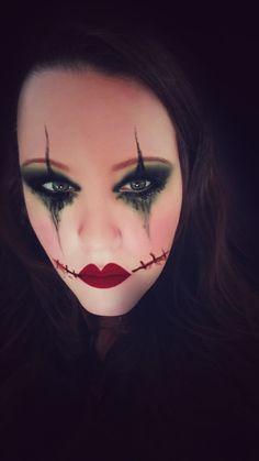 Make-up idee zu halloween oder Fasching