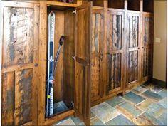 Mud Room/Ski Lockers