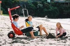 Der ECKLA BEACH-ROLLY®  der praktische Transporthelfer für Freizeit und Sport Der Eckla Beach-Rolly ist die ideale Transporthilfe für S