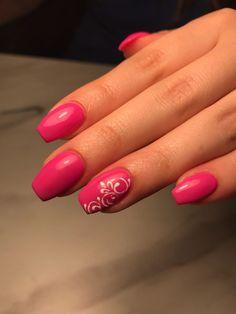 #pink #nailsofpinterest #almond