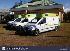 mutual de seguridad ambulances and clinic Punta Arenas Chile Stock Photo Ambulance, Chile, Clinic, Medicine, Van, Stock Photos, Safety, Medical, Vans