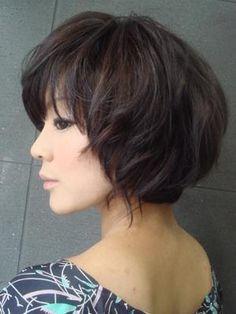 髪型・ヘアカタログ・ヘアアレンジ:ふんわりボブヘアー/CRAIVE NEWYORK[クライブ ニューヨーク](心斎橋)の美容室情報 KamiMado(かみまど)