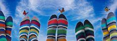 DORE DORE 1819 – One Two Six – Des chaussettes colorées, rayées, fantaisies, à carreaux, pois, originales, géométriques, lignées…