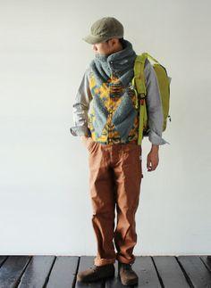 [THE NORTH FACE PURPLE LABEL] Mountain Fleece Vest