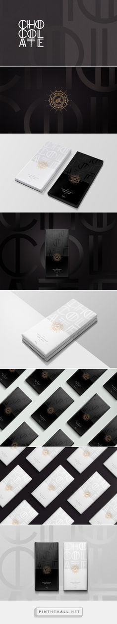 Dark & White Chocolate (Concept) -  Packaging of the World - Creative Package Design Gallery - http://www.packagingoftheworld.com/2016/06/dark-white-chocolate-concept.html