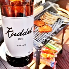 Kuddelbier from Hamburg My Town, Wanderlust, Outfit, Travel, Grilled Sausage, Grill Party, Outfits, Viajes