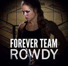 Forever Team Rousey - but she's kinda quit fighting now so I have to be Team Amanda Nunez!! #TheLion