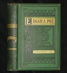 1875 Rare Book - Poems by Edgar Allan POE (The Raven, Lenore, Ulalume, – MFLIBRA - Antique Books