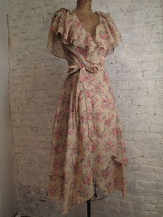 Vintage wrap dress chelsea girl vintage clothing