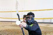 明報新聞網海外版 - 加西版(溫哥華) - Canada Vancouver Chinese Newspaper - 社區新聞 Archery Tag, 6 Packs, Indoor, News, Beach, Interior, Six Pack Abs, Seaside