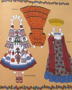 Folk Costumes of Mexico                                                                                                                                                                                 More