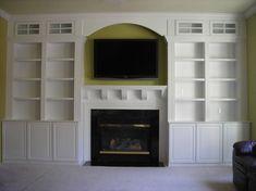 Custom Built-ins & Shelves - bluelabelcustoms