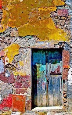 23 Ideas Door Photography Puertas For 2019 Cool Doors, Unique Doors, Door Knockers, Door Knobs, Doorway, Windows And Doors, Painting Inspiration, Colours, Wallpaper