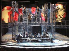 Zhivago. La Jolla Playhouse. Scenic design by Heidi Ettinger.