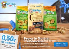 Buoni sconto alimentari Mulino Bianco – Stampa i coupon! | Campioni omaggio gratuiti, Concorsi a premi, Buoni sconto - DimmiCosaCerchi.it