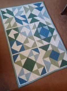 Crochet C2c Pattern, Crochet Shawl Diagram, Crochet Square Patterns, Crochet Quilt, Afghan Crochet Patterns, Filet Crochet, Diy Crochet Bag, Easy Crochet Blanket, Knitted Blankets