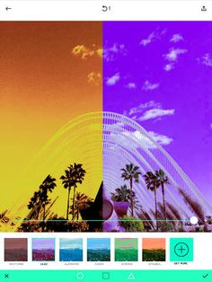 Ultrapop - Collection of Intense Color Filters and Shapes #iphoneography