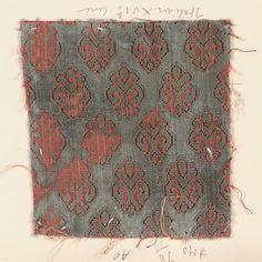 Fragment Date: 16th century Culture: Italian Medium: Silk Classification: Textiles-Velvets Accession Number: 2002.494.131