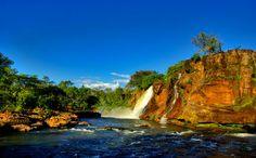 Cachoeira do Prata, na Chapada das Mesas (MA) Leia mais em http://www.momondo.com.br/inspiracao/destinos-baratos-brasil-2016/#Omw1oyfQGzaamgoI.99