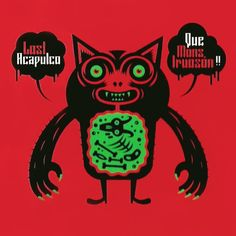 Dr. Alderete 2005 Lost Acapulco - Que Monstruosón!! (EP) [Mostrissimo] #albumcover