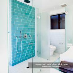 Glass bathroom beach island contemporary