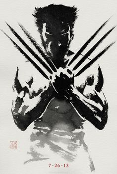 The Wolverine Movie Poster 2013