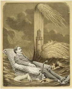 Quiétude.  Max Ernst, 1929.