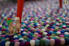 roomor inspiration : Carpet from BLOBBI & Sonny Angel