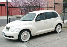 steel rims baby moons on a silver PT cruiser - Google Search