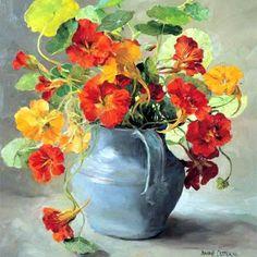 Anne Cotterill (British, 1933 - 2010) Настурции