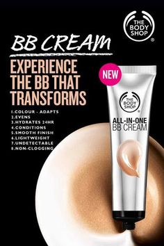 The Body Shop All-in-One BB Cream - The Body Shop All-in-One BB Cream Best Picture For Skincare cartoon For Your Taste You are lookin - Body Shop Skincare, Body Shop Products, The Body Shop Logo, Body Shop Christmas, Body Shop Vitamin E, Sephora, Bb Cream, Body Shop Tea Tree, Body Shop At Home