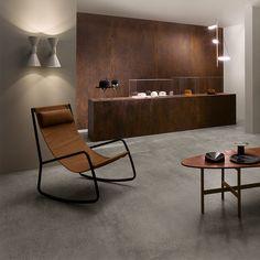 Lea Ceramiche Concreto Rust 120 x 260 cm Bodenfliese - Ästhetisches Design, Calacatta, Dining Table, Kitchen, Furniture, Home Decor, Studio, Room Interior Design, Interior Designing