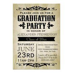 Rustic Themed Graduation Parties