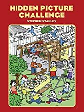 Hidden Picture Challenge (Dover Childrens Activity Books) by Stephen Stanley 0486411419 9780486411415 Hidden Picture Games, Hidden Picture Puzzles, Kids Activity Books, Book Activities, Highlights Hidden Pictures, Book Annotation, Hidden Words, Holiday Club, Word Pictures