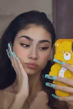 Anime Manga, Instagram Feed, Baddies, Girly, Hair Accessories, Nails, Makeup, Style, Fashion