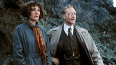 Harriet Walter and Edward Petherbridge as Harriet Vane and Lord Peter Wimsey