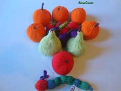 The Very Hungry Caterpillar with Hand Knitted by AniramCreates, £35.00