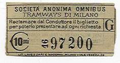 Biglietto della SAO