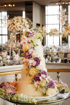 Featured Photographer: Brian Dorsey Studios; wedding cake idea