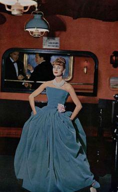 Christian Dior Evening Dress, 1957